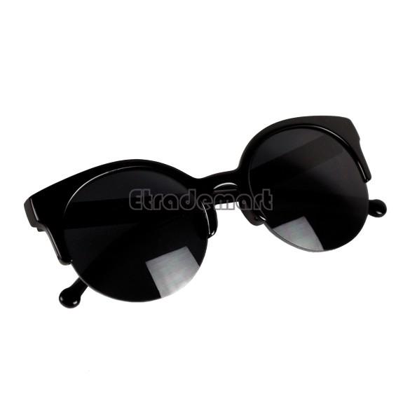Best Selling New Fashion Sunglasses Sexy Retro Style Round Circle Cat Eye Sunglasses Retail/Wholesale 5635(China (Mainland))