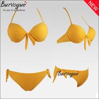2014 hot sale sexy push up swimwear neon color swimsuits swimming bikini women beachwear bathing suit bikini high waist