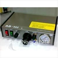 Hot Sell,Free shipping  by dhl 220V AD-982 Semi-Auto Glue Dispenser PCB Solder Paste Liquid Controller Dropper Fluid dispenser