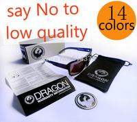 with case 14 colors high quality dragon sunglasses the jam dragon optics dragon eyewear sport glasses