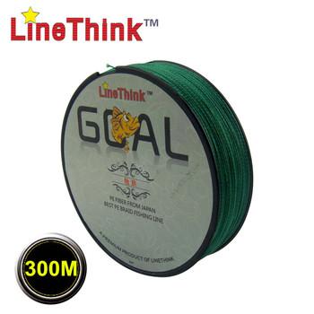 300 м бренд LineThink цель япония мультифиламентные ре плетеная леска 6LB-120LB бесплатная доставка