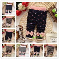 2014 Spring and Autumn Baby Girls Leggings pants ,Infant Leggings Trousers,V768