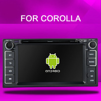 Pure Android 4.2 car dvd player Toyota Hilux VIOS Old Camry Corolla Prado RAV4 Prado 2002 2003 2004 2005 2006 2007 2008+camera
