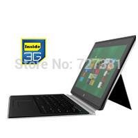12 Inch Ultrabook Intel Windows 8.1 PRO 4GB RAM 128G SSD HD built-in 3G  Free Keyboard vs surface pro Russian Spanish