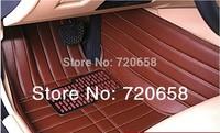 High Quality luxury special car floor mat For Mercedes Benz  class B200 GLK JETTA GOLF 6 7 Elantra K2 K5 K3 CAMERY foot mat PAD