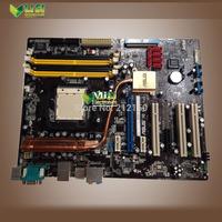 free shipping 90% new for ASUS M2N-E NVIDIA nForce 570 desktop motherboard Socket AM2 DDR2 on sale