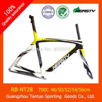 100% Carbon Road Frame 52cm Road Bike/Bicycle Frame Bike Accessaries Frame+Fork+Seat Post+Clamp