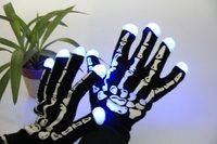 5pcs/lot Novelty LED Gloves New LED Rave Finger Lighting Blink Flashing Gloves for Dance Party Free Shiping