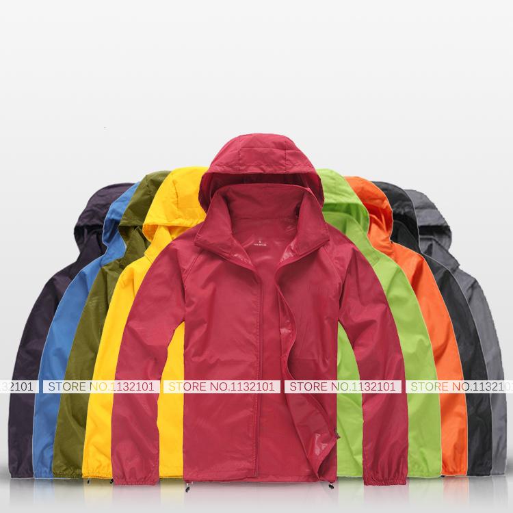 Outdoor Brand Men Women Mountain Summer Climbing UV Protection Skin Rain Jacket Size XS-3XL Rash Guard Fishing Coat Chaquetas(China (Mainland))