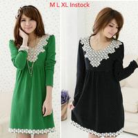 Appliques Lace Plus size M-XL Maternity Dress Beading Casual loose Pregnancy Dresses Elegant Nursing Breast-feeding vestidos