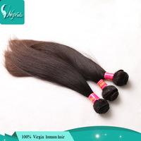 promotion:cheap virgin brazilian straight hair extensions 6a brazilian virgin hair straight 2pcs lot luvin brazilian hair sale