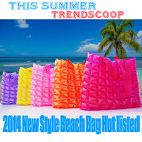 2014 new arrive beach bag fashion pvc bag jelly inflatable waterproof bag summer bag