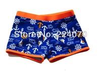 Fashion Sea design Summer Children kids baby boys swimming trunks ocean style children boys swimsuit Trunks