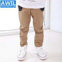 New 2014 autumn children pants kids trousers 2014 new pants for boys kids pants for Retail 2-9years Free Shipping