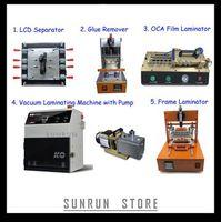 2014 Cheapest OCA Machine Full Set(LCD Separator+Glue Remover+OCA Film Laminator+Vacuum OCA Laminating Machine+Frame Laminator)