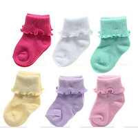 one pair  baby socks Brand (0-12month)Spring Winter Infant Cotton Sock Girls Boys Free Shipping