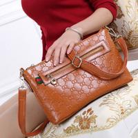 2014 Fashion Small Classic Designer Genuine Leather Messenger Bag Women Shoulder Crossbody Bag Handbag WE007A