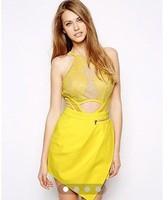 Wholesale, 2014 three floor style women SICILY PLAYSUIT Dress  S/M