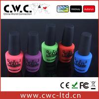 Wholesale and 2014 Hot sale nail polish usb flash drive Promotional usb flash drive 64gb-2gb with cloth bag