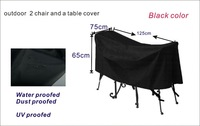 Free shipping 2+1 garden chair and table cover,garden furniture cover,water-proofed cover for outdoor furniture