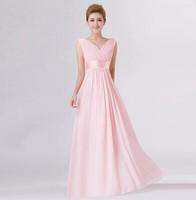 High quality Chiffon Brand New Bride Bridesmaid Party Formal apparel, Slim waist Long Design Dresses, Bust 98cm Waist 80cm
