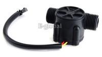 2014 New Water Flow Sensor Is Water Heater Flowmeter Flow Sensor Hall Sensor Black SV000515 K#