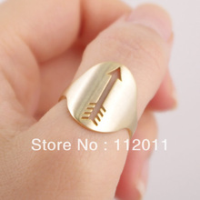 New 2014 Retro Rings Fashion Feather Cupid Arrow Ring Jewelry Wholesale10pcs/lot free shipping