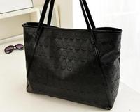 2014 female bags fashionable casual skull all-match large bag  women's handbag black