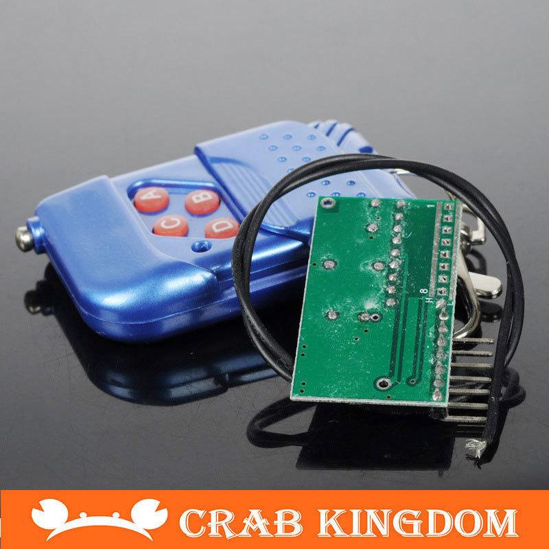Four way remote controller smart car robot send Antenna and battery No.1(China (Mainland))