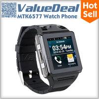 Original IK8 Dual Core MTK6577 Smart Watch Phone Android 4.0 1.54inch Screen 512MB RAM 4G ROM 5MP Camera GPS WIFI Smartphone