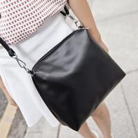 new Fashion 2014 women messenger bags Women leather Handbags Vintage leather bags small black Simple Designers Women's Handbags
