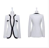 Hot sale 1pcs Slim short  Blazer women blazer feminino  chaquetas mujer women short coat