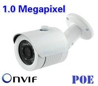 Special ! POE 1.0 Megapixel P2P HD Network Mini Outdoor IP Camera Waterproof IP66 Network 1.0MP HD CCTV Camera ONVIF 2.0 Version