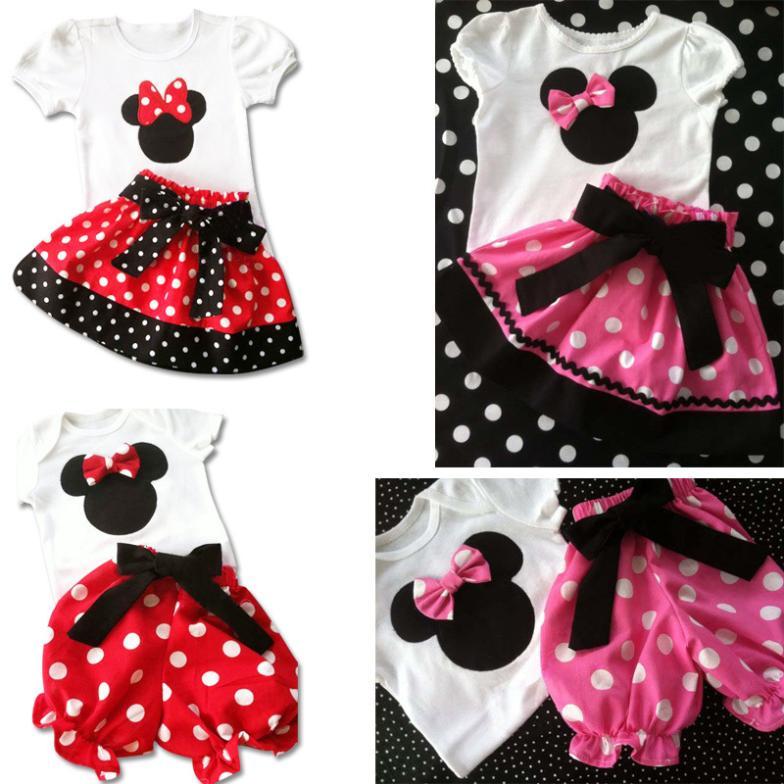 retail mini mouse dot dress for baby girls/ meninas vestir/ christmas ...