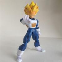 Free Shipping Datong SHF  Dragon Ball Series , Self Assembly Super Saiyan Vegeta  Action Figure Models