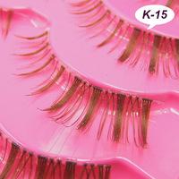 K-15 Japanese beneficial if the wing coffee brown eyelash lengthening of eye hand