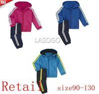 2014  new Retail brand AD children sport suit 2 pcs set children cloth brand children clothing sport set children autumn set