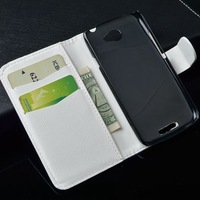 Reto Good Quality Print Pattern Leather Wallet Flip Case for HTC One S Z520e Cover  and Id  Card Holder,Free Shipping
