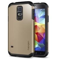 Hottest!!! SGP Case for Samsung Galaxy S5 i9600 SPIGEN Tough Armor Case Hybrid Hard PC+ Soft silicone Cover 12 Colours RCD03860