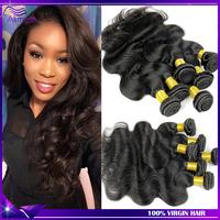 5A Rosa hair products Brazilian virgin hair body wave 4pcs Unprocessed Human hair extension Brazilian body wave Ali moda hair
