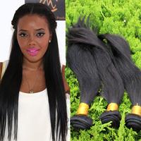 """Cheap 5A Bazilian Virgin Straight Hair 3Pc Lot 100% Human Hair  Weaves Natural Black Hair Unprocessed Hair 10""""-32"""" Free Shipping"""