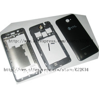 Middle Chassis Housing cover +Volume Keys+Power Button for THL W200 Black