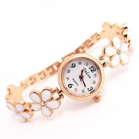 Wholesale rhinestone women wristwatches ladies fashion Flower quartz watch  Women watches FS178