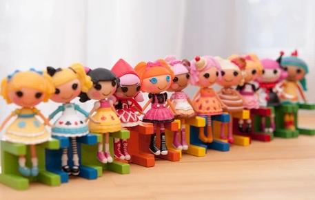 2014 New 8pcs 16pcs/set button eyes mini Lalaloopsy dolls, girl/kid gift, play house toys, action collection figure brinquedos(China (Mainland))