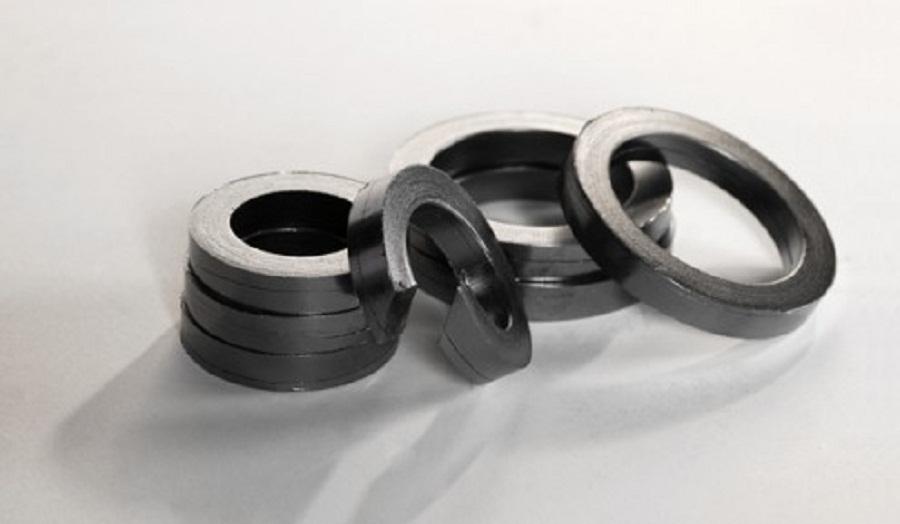 Id57 * OD 80 mm anel de vedação de grafite 20 pcs / Die formado junta do anel de grafite / grafite flexível auto anéis de vedação(China (Mainland))