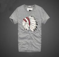 New 2014 Summer Men's Tshirt 100% Quality Short Sleeve Cotton T-shirt Male Fashion Brand Causal Slim T Shirt For Men Camisa
