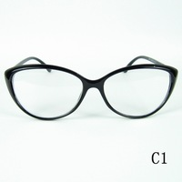 2014 New Design Crescent Style Eyecat Frame Metal Rhombic Plaid Legs Good Quality Optical Glasses