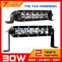 30w LED Work Light  Bar SUV Truck  Tractor ATV 12V 24V Offroad IP67 LED Worklight External Light Seckill 18w 20w 40w