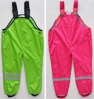 Topolino cold wind and waterproof brand boys and girls children pants overalls original single children's, children trousers