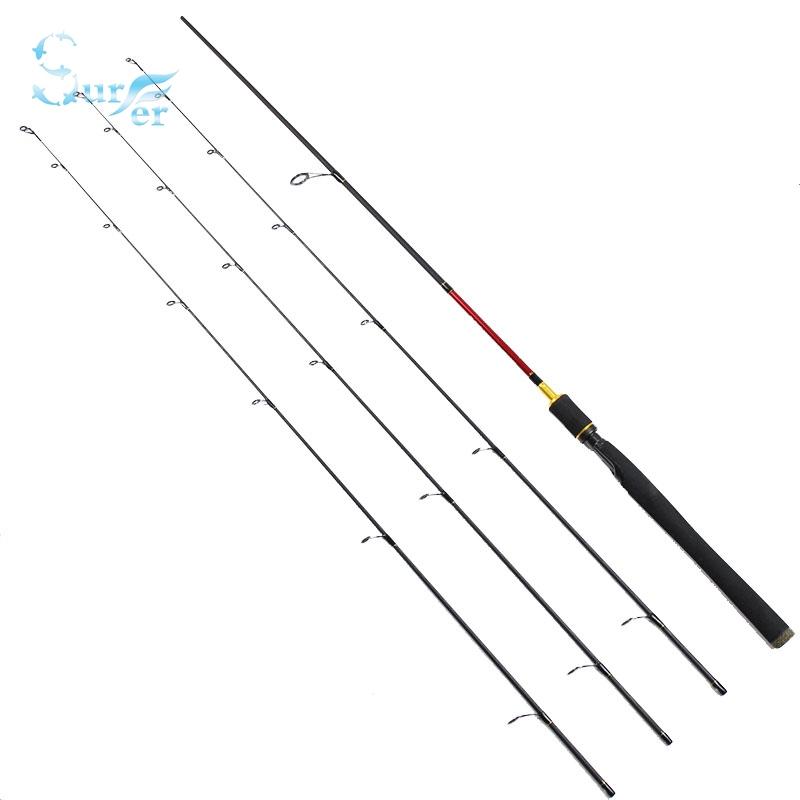 2.4m/2.1m/Three 3 tips three actions carbon fiber fishing rod L/MH/M spinning lure fishing rod Top quality custom carbon(China (Mainland))